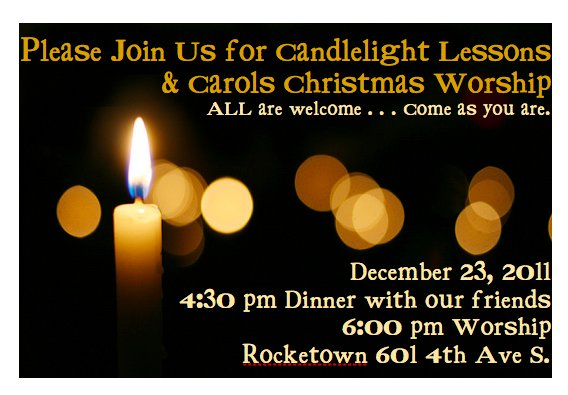 Join Us For Candlelight Worship