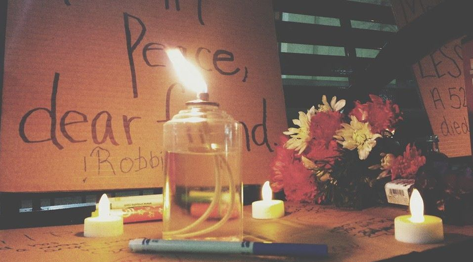 Homeless Memorial Reflection 2014