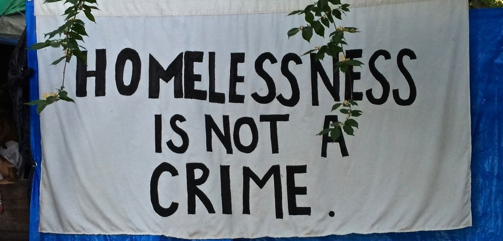 Homelessness Not Crime