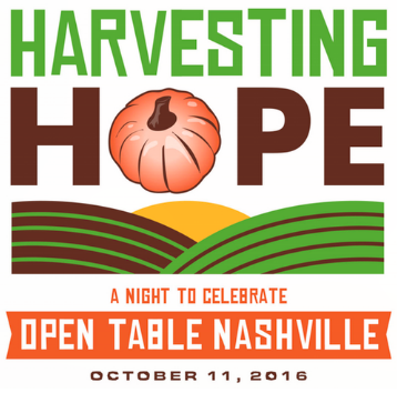 You're Invited To Harvesting Hope: A Night To Celebrate Open Table Nashville!