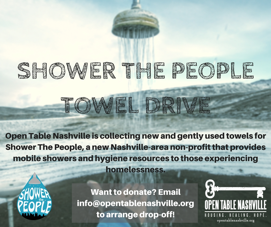 Shower The People Social Media